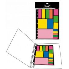 Set Notas Adhesivas para Carpetas A4