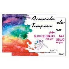 Bloc de Dibujo Acuarela A4