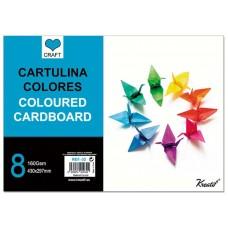 Cartulinas de Colores ( 8 )
